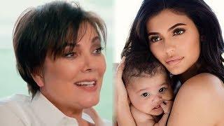 Kris Jenner Reveals She Helped DELIVER Stormi on KUWTK