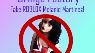Roblox Cringe Factory: FAKE MELANIE MARTINEZ KONZERT?