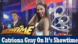 It's Showtime: Miss Universe 2018 Catriona Gray!