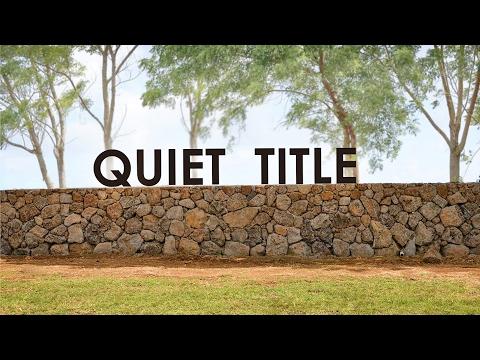 INSIGHTS ON PBS HAWAI'I: Quiet Title