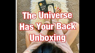 The Universe Has Your Back :Unboxing: