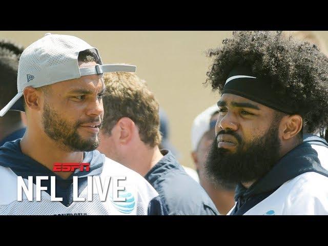 Dak Prescott's contract is the Cowboys' priority over Ezekiel Elliott - Dan Graziano | NFL Live