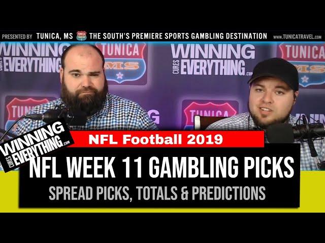 WCE: NFL Gambling Picks Week 11 (Against the Spread)