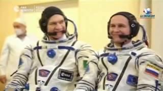 Старт «Союза» с экспедицией на МКС с Байконура