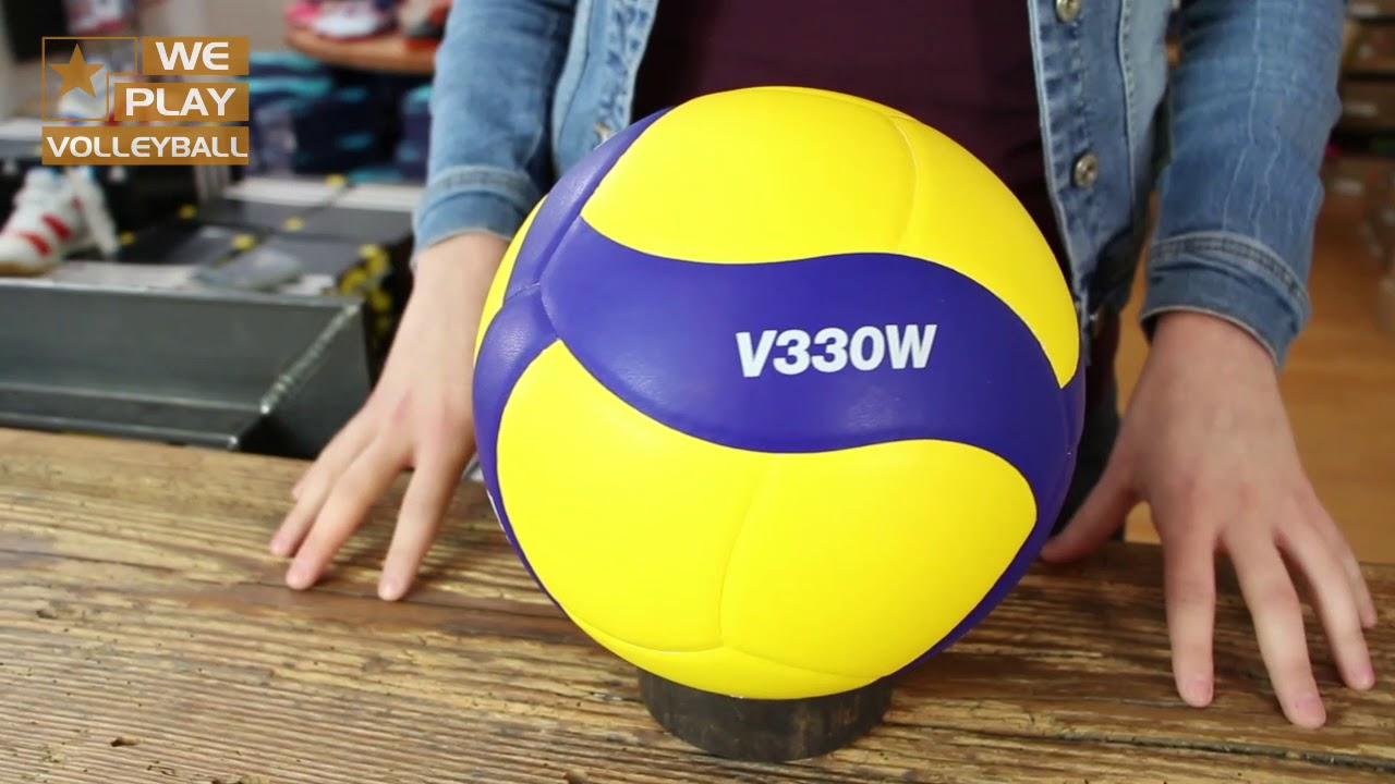 Review Mikasa Volleyball V330w Replika Die Neue Serie Youtube