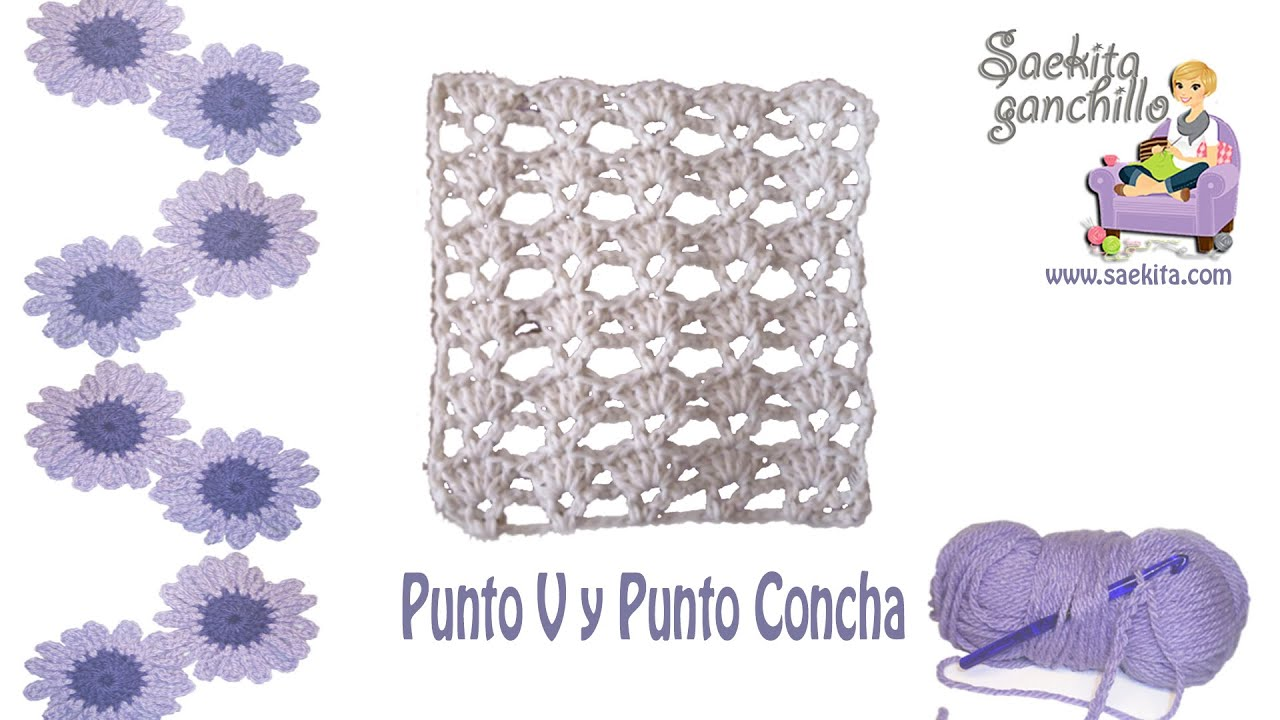 Dorable Patrón De Crochet Concha Imagen - Patrón de Vestido de Novia ...