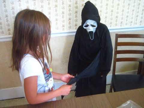 Kids Size Scream Costume Part 2