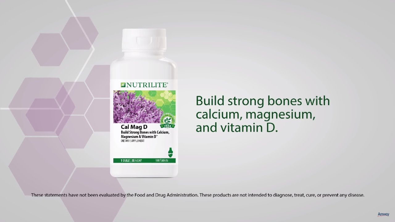 Nutrilite Cal Mag D: Calcium Supplement for Bone Health | Amway