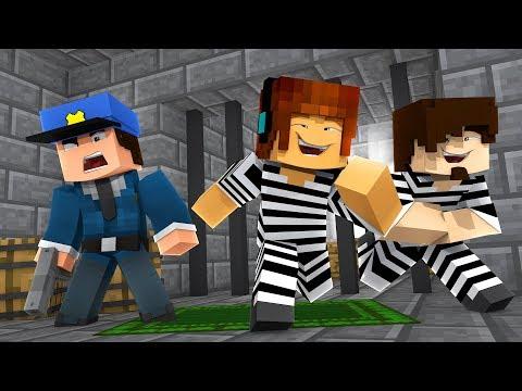 Minecraft : POLÍCIA E LADRÃO VOLTAMOS !! (Minecraft Polícia e Ladrão)