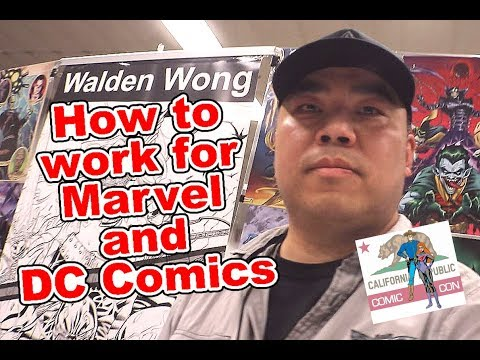 How To Get Work In The Comic Book Industry. Marvel And DC Comics. Tour California Republic Comic Con