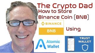 How to Store Binance Coin BNB using Atomic Wallet amp Trust Wallet