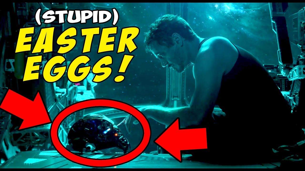 Avengers Endgame Trailer! - Stupid EASTER EGGS You Missed ...