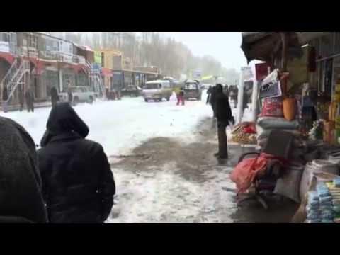 Bamyan Afghanistan Urban Skiing