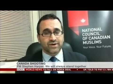 NCCM's Ihsaan Gardee discusses Ottawa attacks on BBC World News