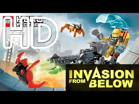 Lego Hero Factory Invasion From Below Full HD