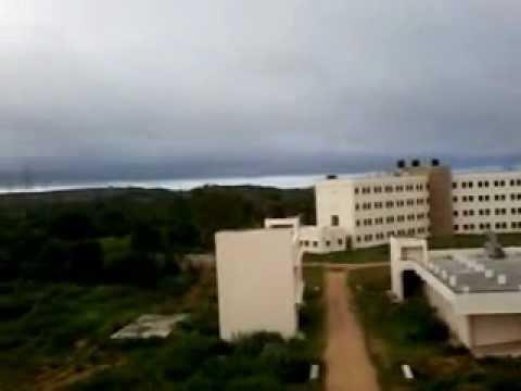 university of hyderabad , a view from J hostel , Neelam kerketta