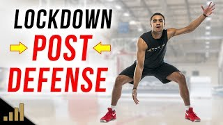 How to: STOP BIG AND TALL POST PLAYERS!!! Basketball Defense Secrets to Become a LOCKDOWN DEFENDER!