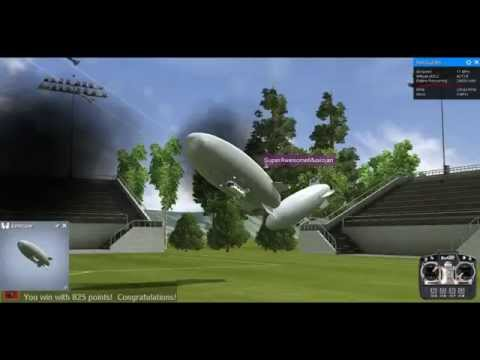 RealFlight 7.5 Blimp Combat With SuperAwesomeMusician