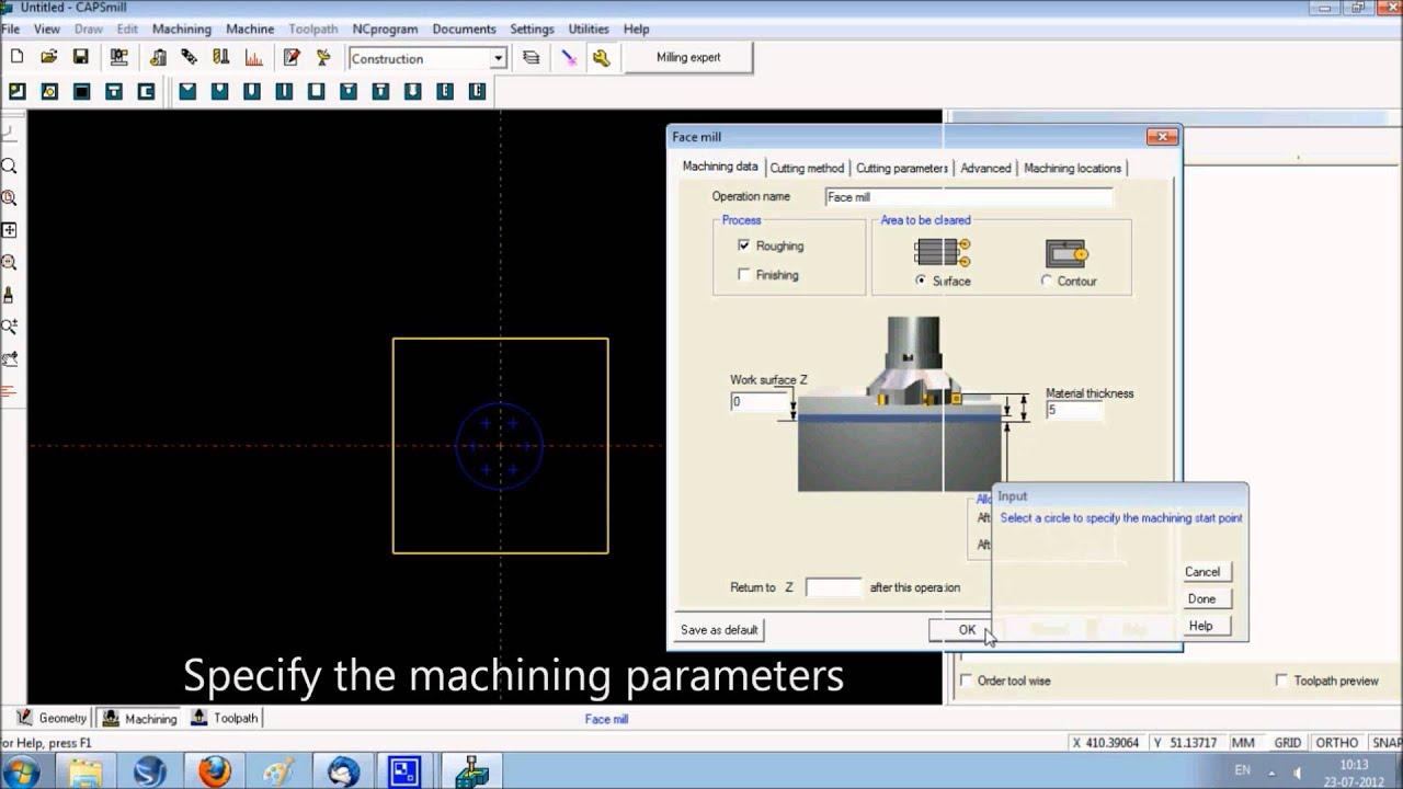 CAD/CAM software, CNC milling programming software | CAPSmill