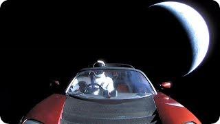 КосмоСториз: ГДЕ ТЫ STARMAN? Ровно год как Tesla в космосе.