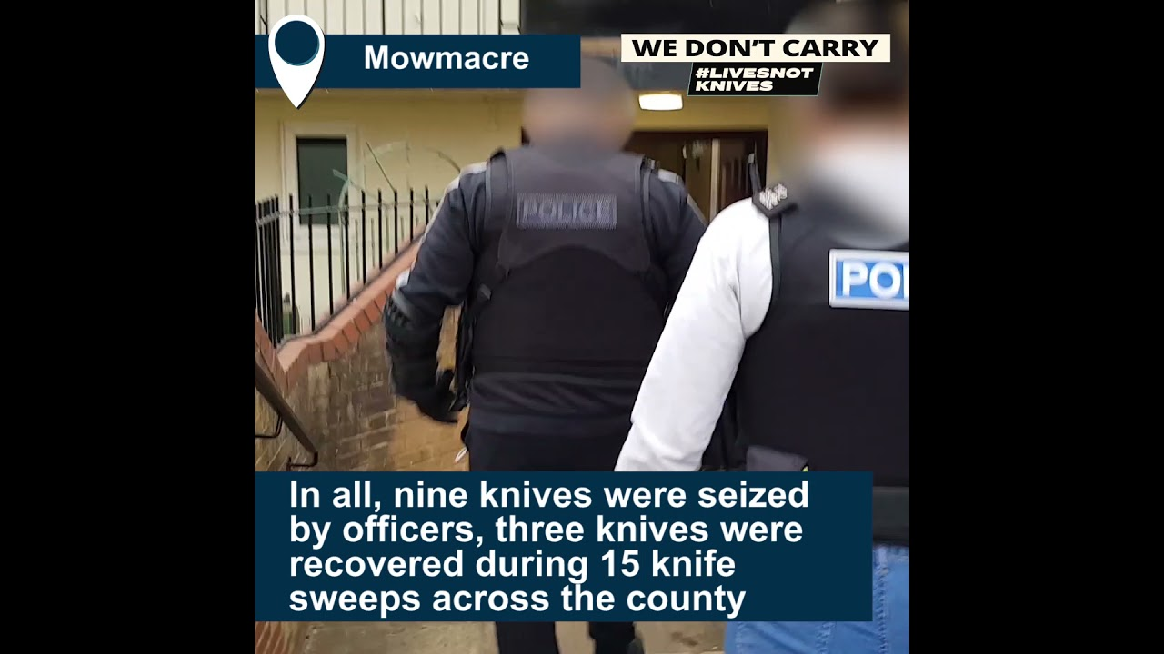 Police operation Sceptre leads to arrests and seizures