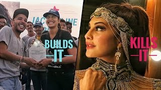 Jacqueline Fernandez for a good cause and a sexy performance on the same day | ShaanMu