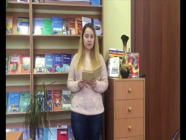 Изображение предпросмотра прочтения – АлинаНовикова читает произведение «К соловью» И.А.Крылова