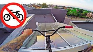 NO BMX ALLOWED!!
