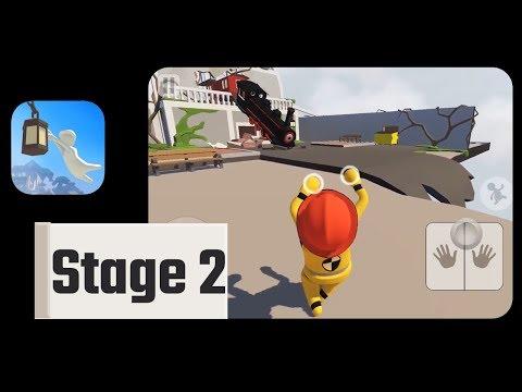 Human: Fall Flat Game Stage 2 Walkthrough