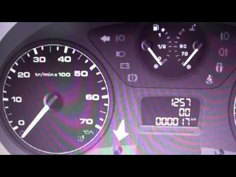 Citroen Berlingo Dashboard Warning Lights & Symbols - What They Mean