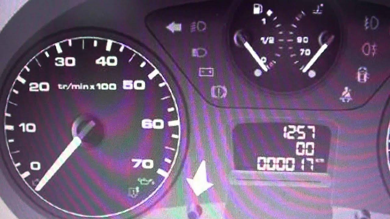 Citroen Berlingo Dashboard Warning Lights & Symbols - What They Mean