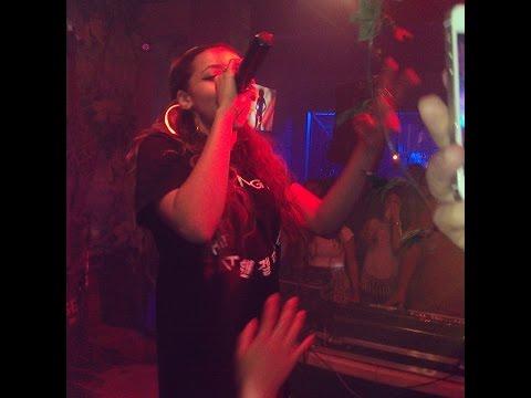 Tinashe 2 on (Drake version) live!!! 46 Lounge Totowa NJ