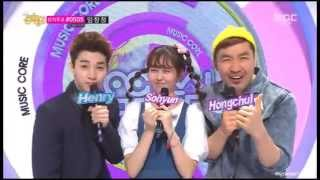 140405 Music Core MC Henry cut SWING Ending 쇼 음악중심