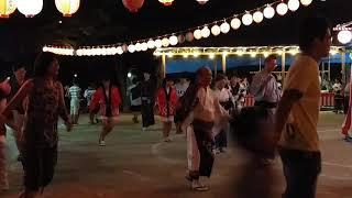 城内町会盆踊り大会お富さん弾んでおります✨2017年8月13日