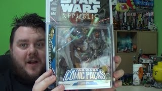 Star Wars Expanded Universe Comic Pack - Anakin and Assassin Droid 3.75 Action Figures Review