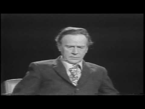 Marshall McLuhan 1971 - Full debate hosted by Edwin Newman