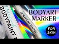 Waterproof Bodypaint Marker for Bodyart on Skin by Lana Chromium