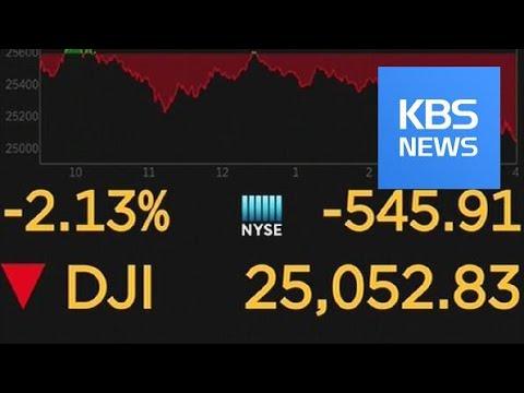 Stock Market Crash / KBS뉴스(News)