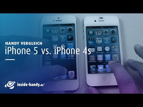 iPhone 5 vs. iPhone 4S Hands-On [DE]