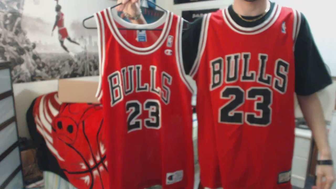Unboxing: Michael Jordan Red Chicago Bulls Hardwood ...