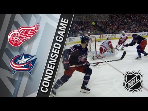 Detroit Red Wings vs Columbus Blue Jackets March 9, 2018 HIGHLIGHTS HD