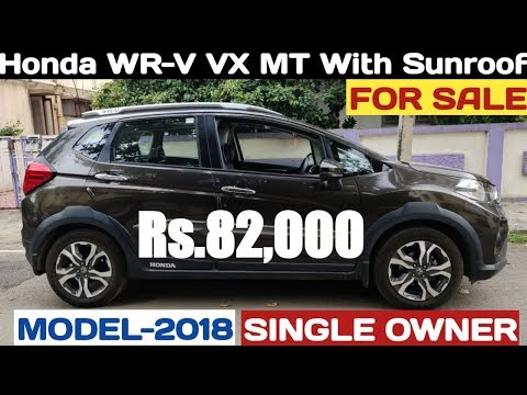 Honda WR-V VX MT Petrol For Sale Rs.82,000 Only   have a look car features & condition