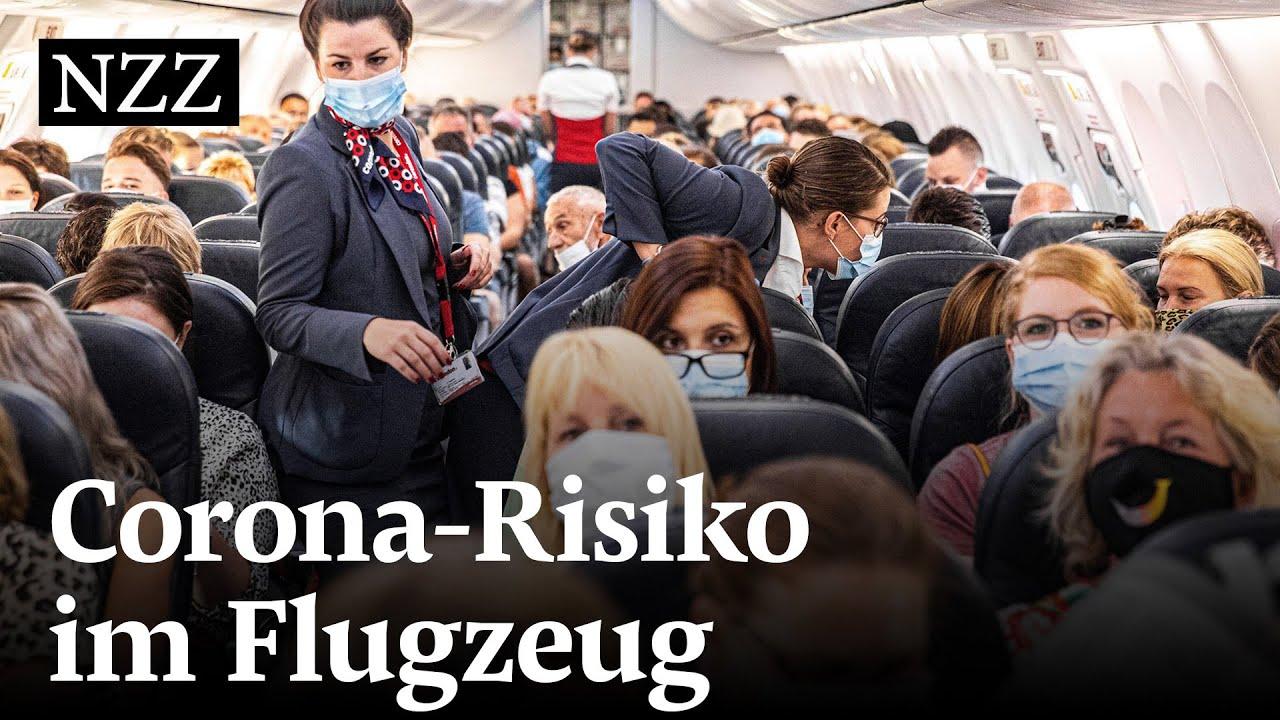 Corona im Flugzeug: So gross ist das Risiko einer Ansteckung wirklich