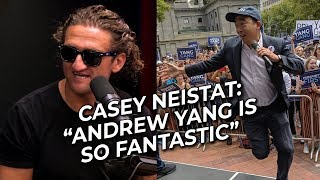 Casey Neistat PRAISES Andrew Yang on the H3 Podcast - 9/27/19