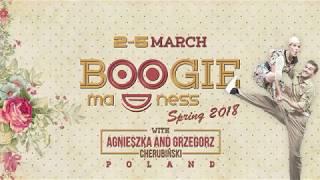 Boogie Madness Spring 2018 Flying Steps and Grzegorz and Agnieszka Cherubiński