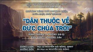HTTL TÂN AN - TP ĐÀ NẴNG - Chương trình thờ phượng Chúa - 12/09/2021
