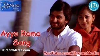 Download Snehituda Telugu Movie Songs - Ayyo Rama Song - Nani - Madhavi Latha - Sivaram Shankar MP3 song and Music Video
