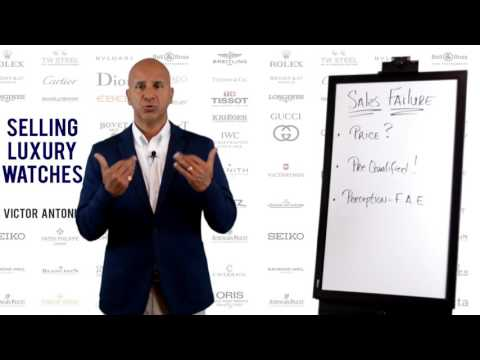 Retail Sales Training - Selling Luxury Watches - Part 4