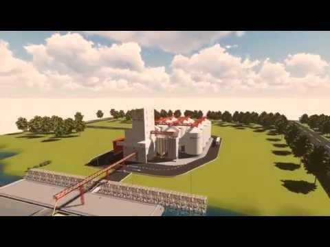 30.000 t silo for grain with river port on Danube
