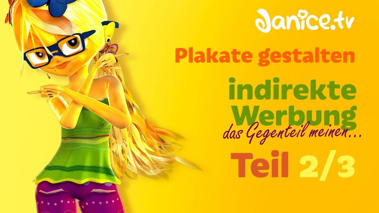 Plakate gestalten: Das Gegenteil meinen - indirekte Werbung - Teil 2 ...